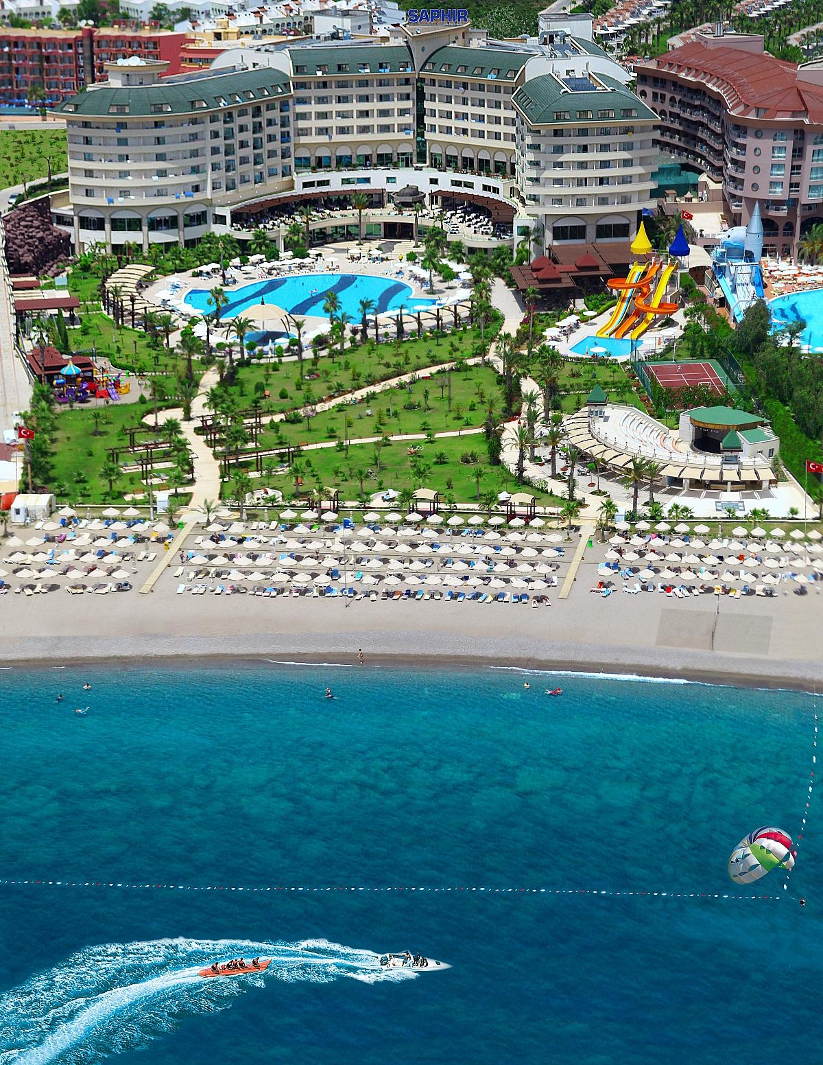 Saphir Resort  Spa  Turecko  CK Fischer