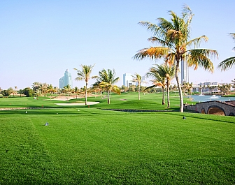 Emirates Golf Club Faldo Course Wadi